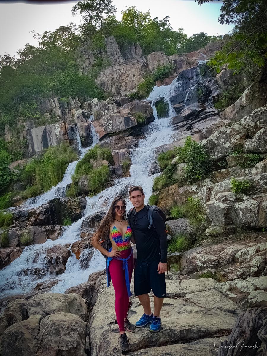 Cachoeiras Cavalcante, Cachoeira da Capivara, GO